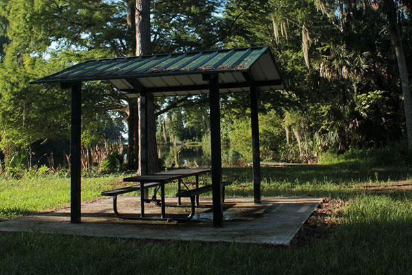 Picnic Shelter at Sherwood L Stokes